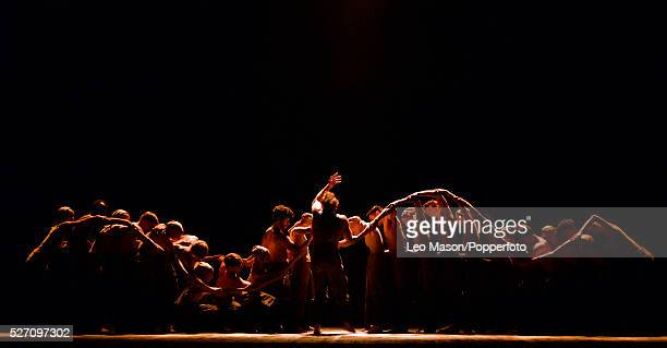 English National Ballet Company LEST WE FORGET at Sadlers Wells Theatre London UK DUST Performed by artists of the company