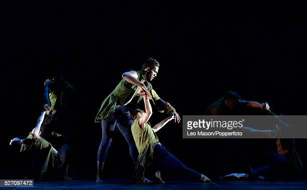 English National Ballet Company LEST WE FORGET at Sadlers Wells Theatre London UK Second Breath performed by Alina Cojocaru Junor Souza plus artists...