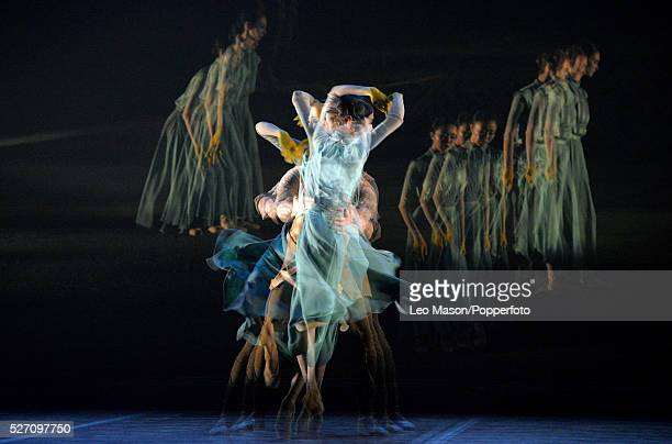 English National Ballet Company LEST WE FORGET at Sadlers Wells Theatre London UK No Man's Land Performed by artists of the company