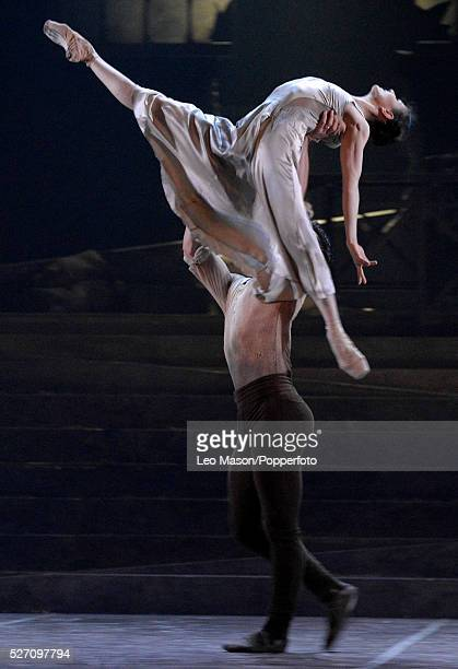 English National Ballet Company LEST WE FORGET at Sadlers Wells Theatre London UK No Man's Land performed by Alina Cojocaru James Forbat