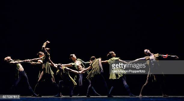 English National Ballet Company LEST WE FORGET at Sadlers Wells Theatre London UK Second Breath Performed by artists of the company