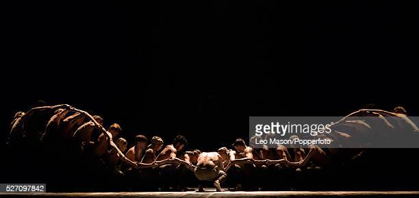 English National Ballet Company LEST WE FORGET at Sadlers Wells Theatre London UK Dust performed by Tamara Rojo James Streeter Performed by artists...