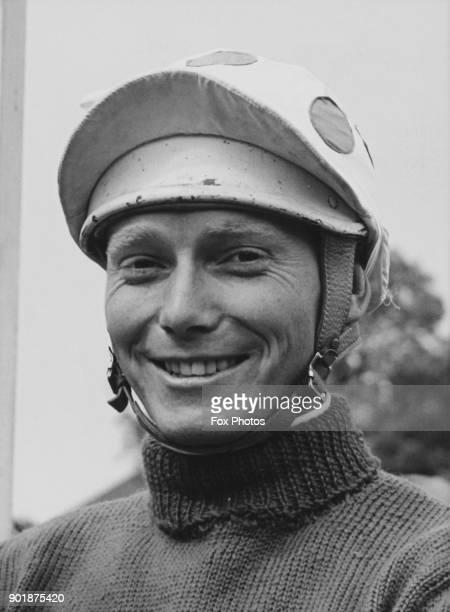 English National Hunt racing jockey Terry Biddlecombe September 1963