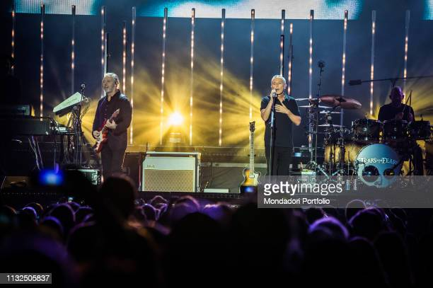 English new wave and pop rock band Tears For Fears performs live on stage at Mediolanum Forum Milan February 23rd 2019 n