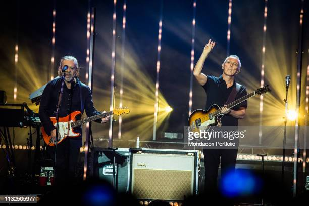 English new wave and pop rock band Tears For Fears performs live on stage at Mediolanum Forum Milan February 23rd 2019