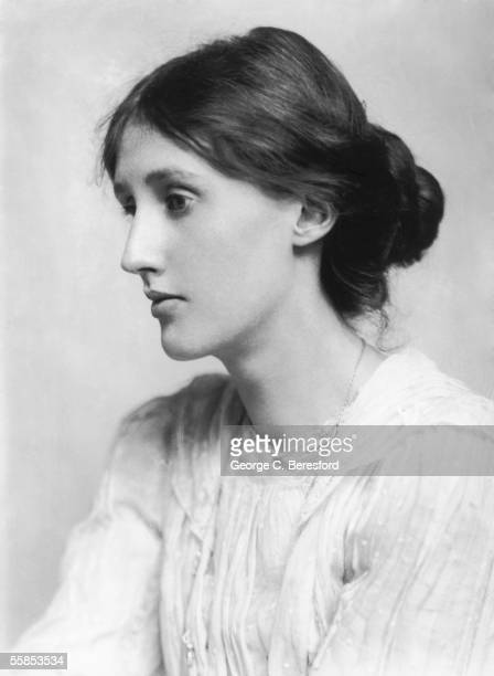 English novelist and critic Virginia Woolf 1902