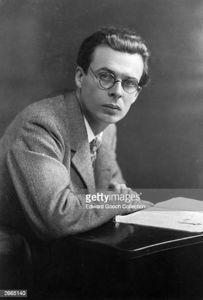 English novelist and essayist Aldous Huxley