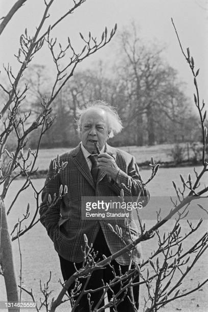 English novelist and playwright J. B. Priestley , UK, 22nd March 1974.