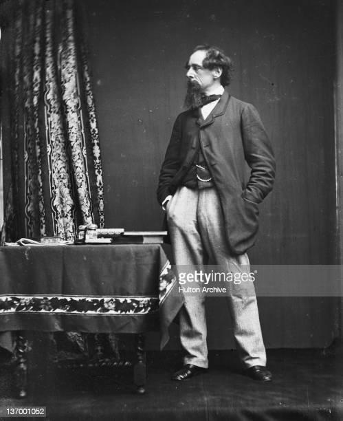 English novelist Charles Dickens circa 1860