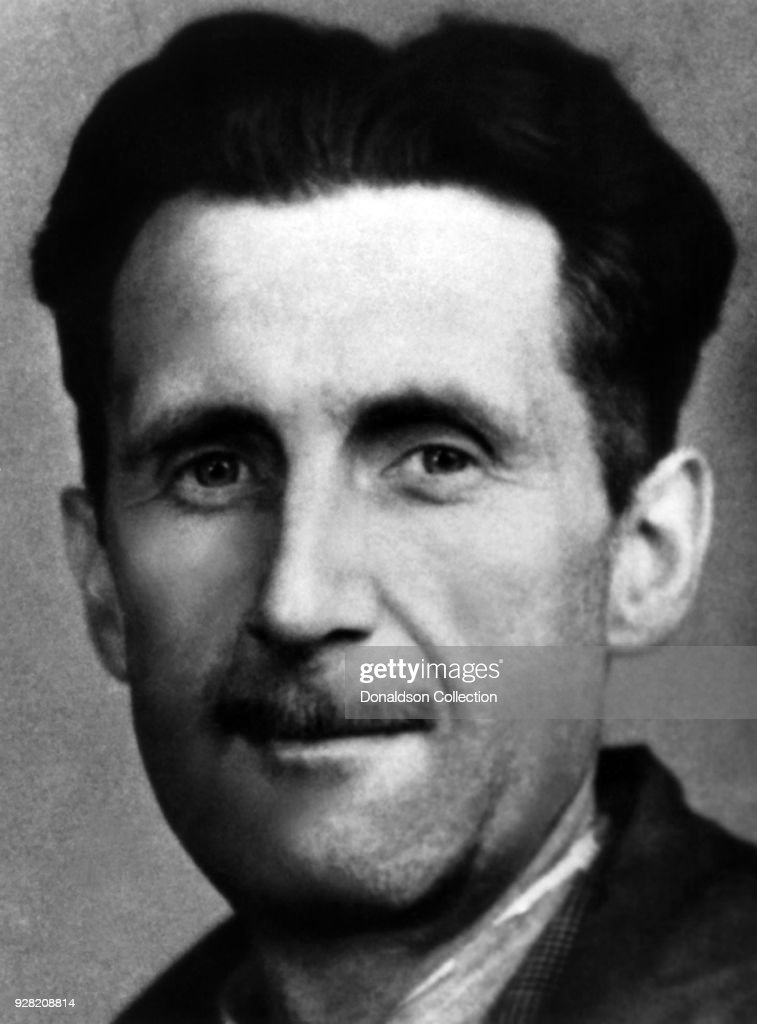 George Orwell Portrait : News Photo