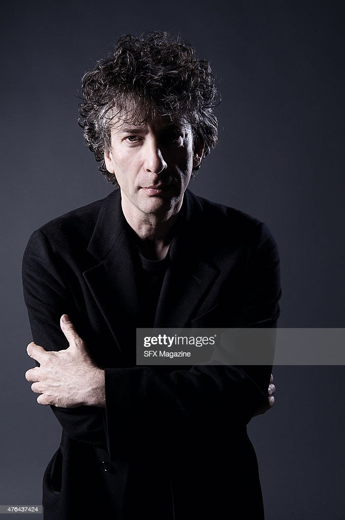 Neil Gaiman Portrait Shoot