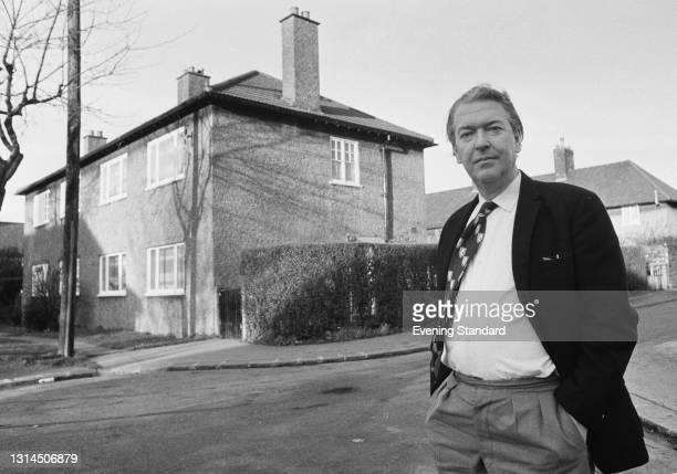 English novelist Kingsley Amis , UK, 12th January 1974.