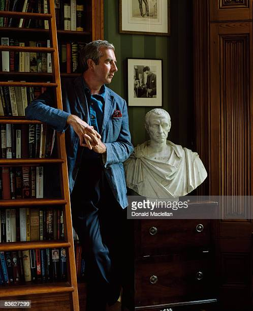English novelist Robert Harris Oxford 11th August 2003