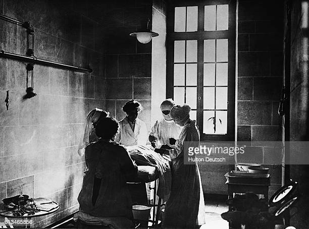 English Nurses in a French Hospital