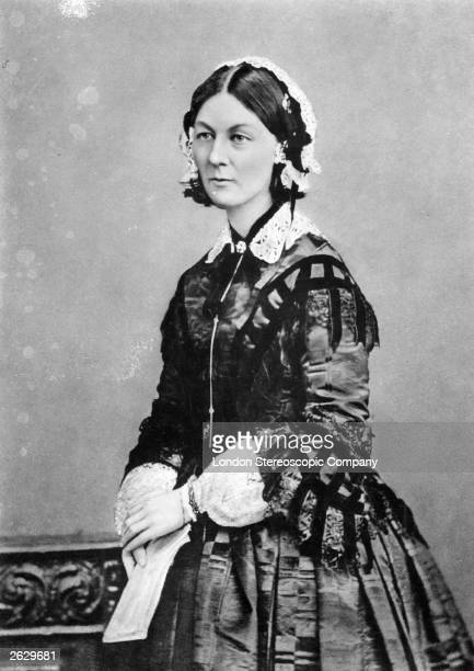 English nursing pioneer healthcare reformer and Crimean War heroine Florence Nightingale