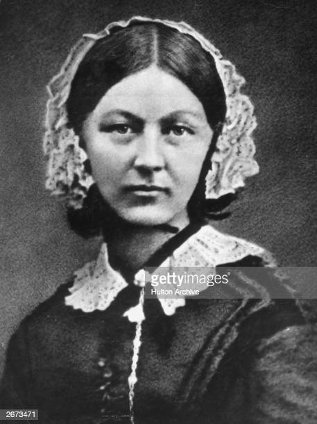 English nursing reformer Florence Nightingale who became the first woman to receive the Order of Merit for her tireless efforts during the Crimean War