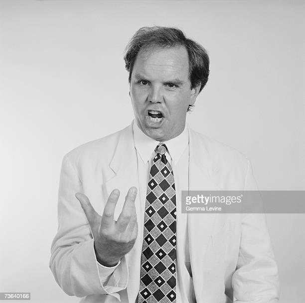 English operatic baritone Anthony MichaelsMoore circa 1994