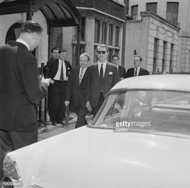 English osteopath and artist Stephen Ward one of the central figures in the 'Profumo affair' and a witness in the Christine Keeler case pictured...