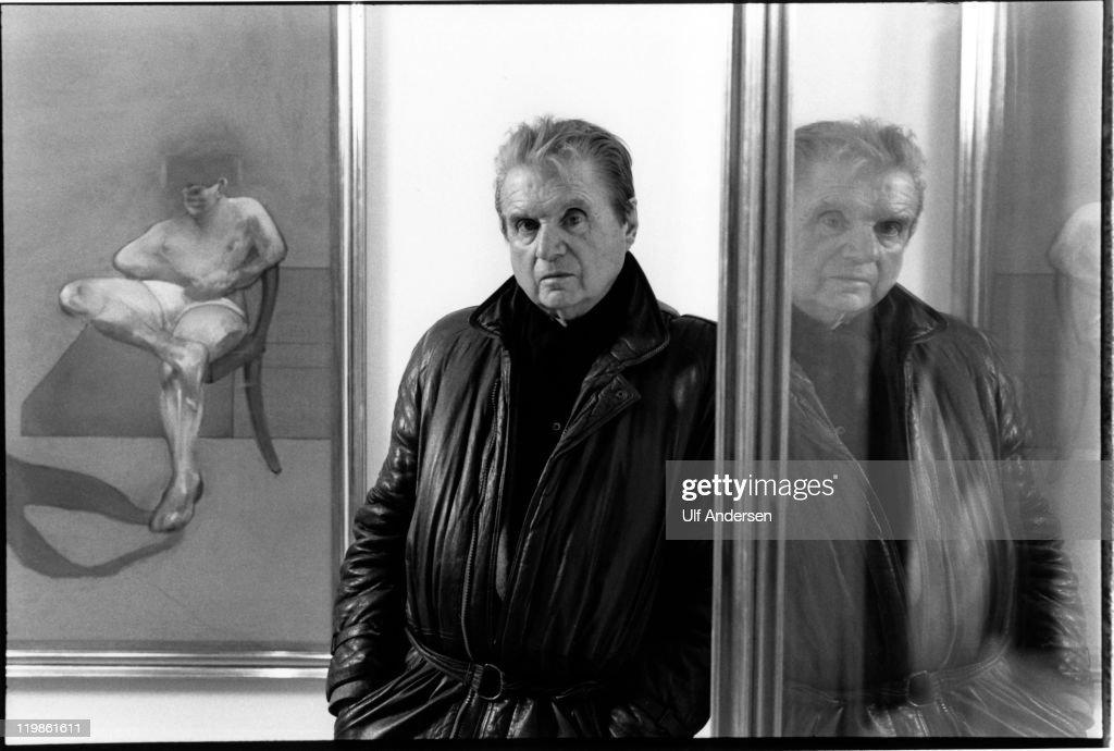 Francis Bacon Portrait Session : News Photo