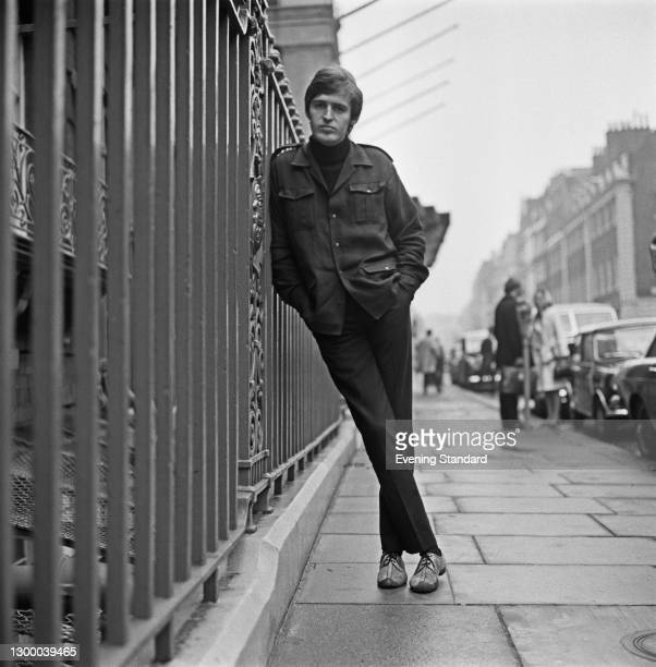 English performing artist Mike McGear of comedy and music trio The Scaffold, UK, 1st October 1966. He is the younger brother of musician Paul...