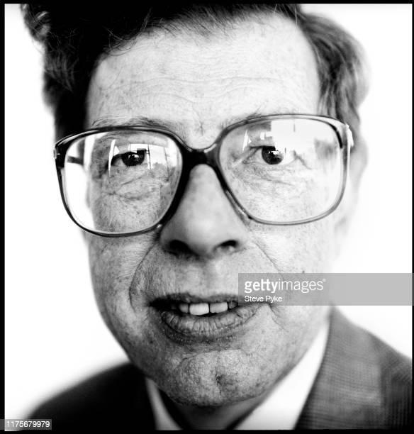 English philosopher Martin Hollis Norwich 1990