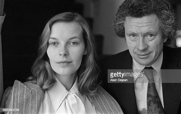 English photographer and film director David Hamilton and Mona Kristensen his companion his Muse and also the costar of his first feature film...