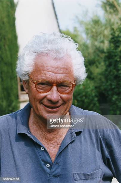 English photographer and film director David Hamilton in St Tropez France 29th June 1995