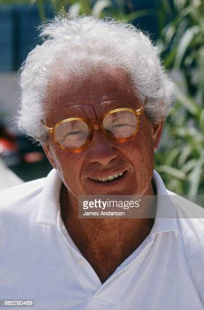 English photographer and film director David Hamilton in St Tropez France 3rd July 1994