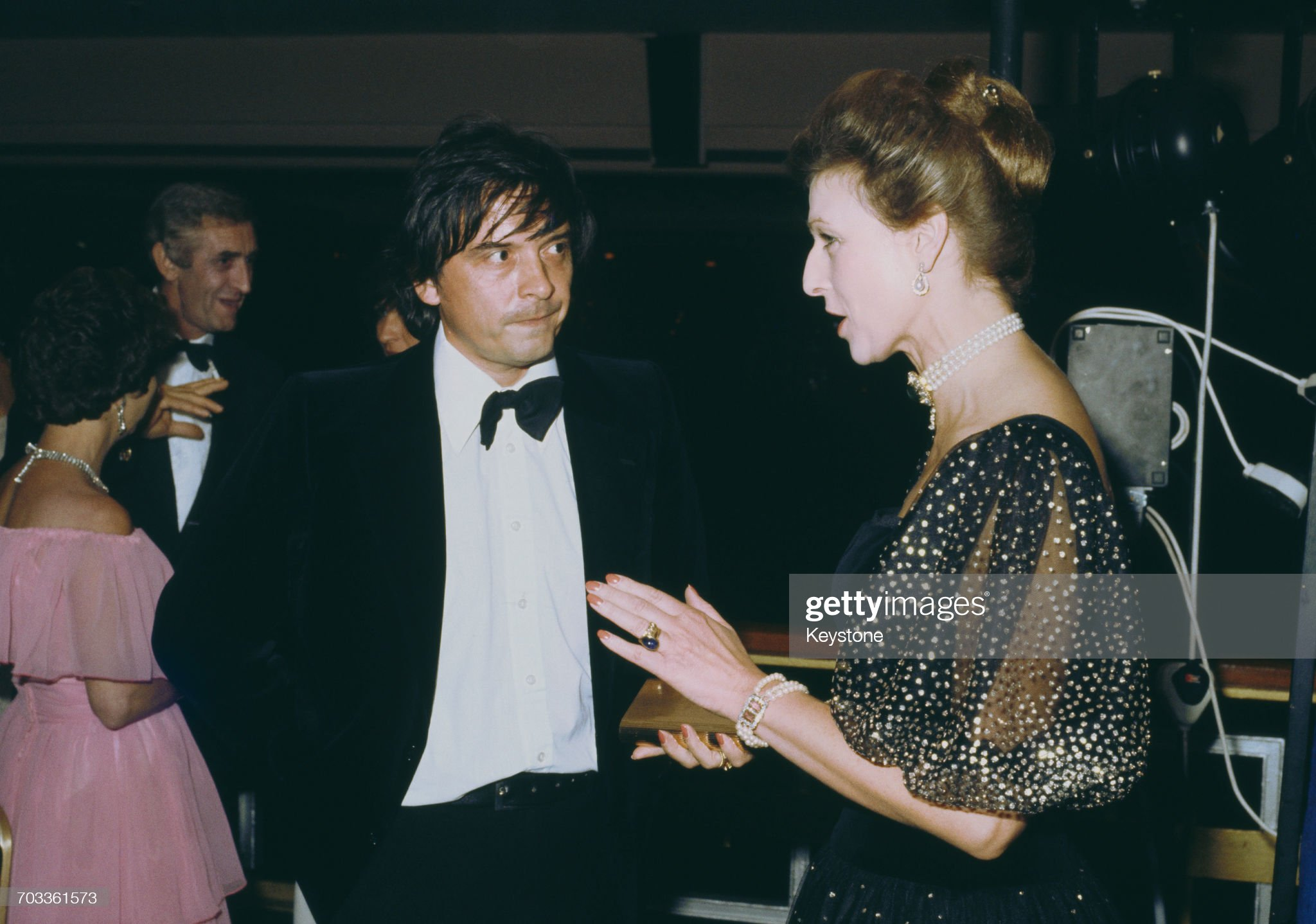 David Bailey And The Princess : News Photo