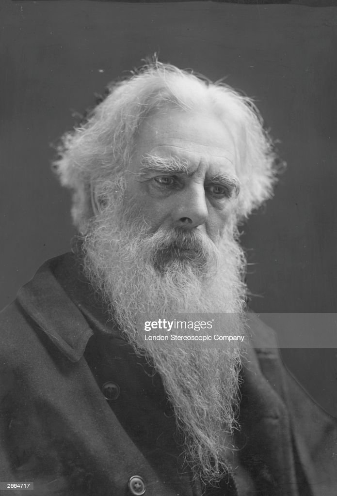 English photographer Eadweard Muybridge (1830-1904). A pioneer of chronotography, he used trip wires to trigger many cameras in order to capture the movements of animals and humans.