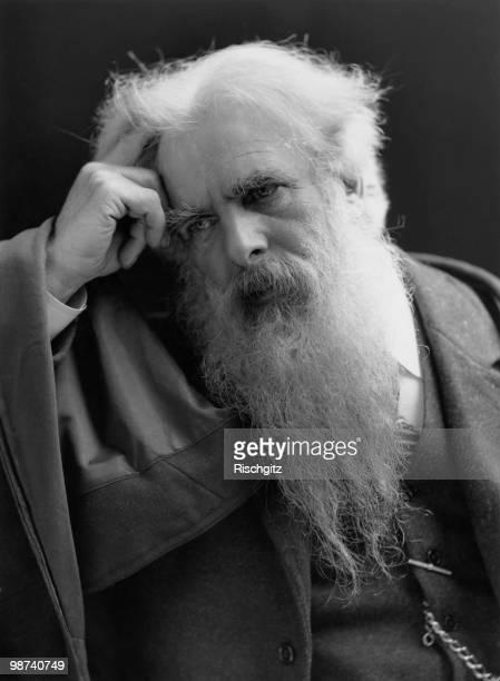 English photographer Eadweard Muybridge circa 1900
