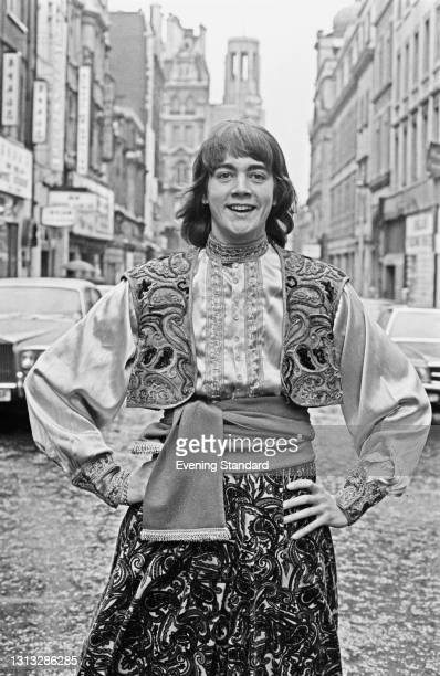 English pianist and songwriter Bobby Crush, UK, 26th October 1973. He will be starring in the pantomime 'Aladdin' at the ABC Theatre in Stockton at...