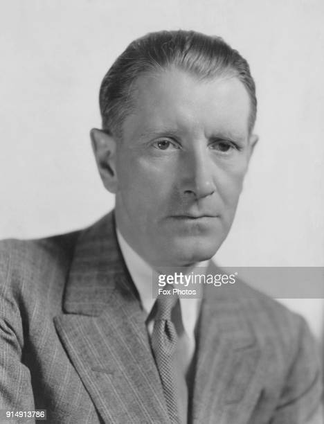 English playwright Frederick Lonsdale whilst under contract to MGM Studios circa 1932 A portrait by Clarence Sinclair Bull