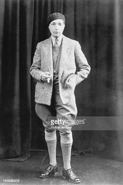 English poet and author Radclyffe Hall May 1934