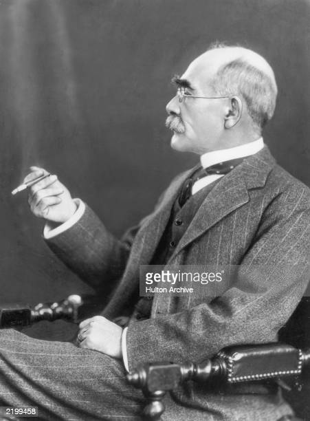 English poet and novelist Rudyard Kipling in 1925, at the age of sixty.