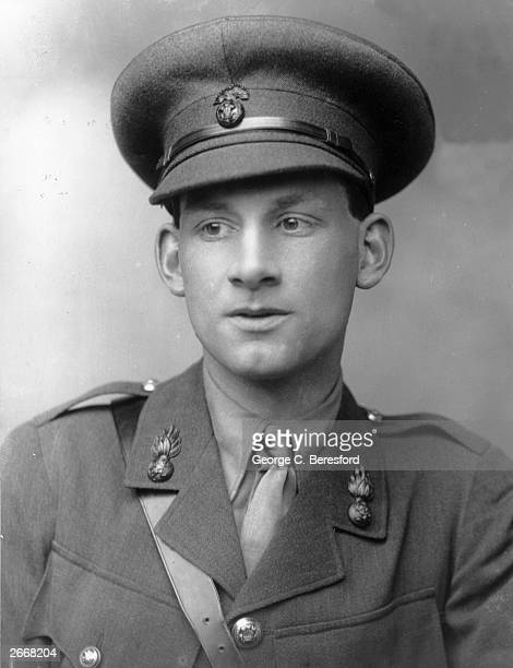 English poet and novelist Siegfried Sassoon who is best known for his poems dealing with World War I.