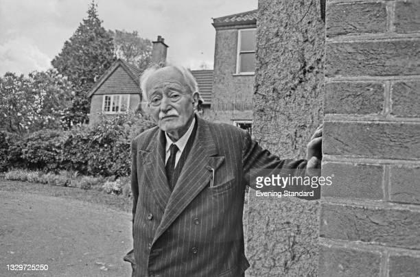 English poet and writer John Masefield , the Poet Laureate, UK, 31st May 1965.