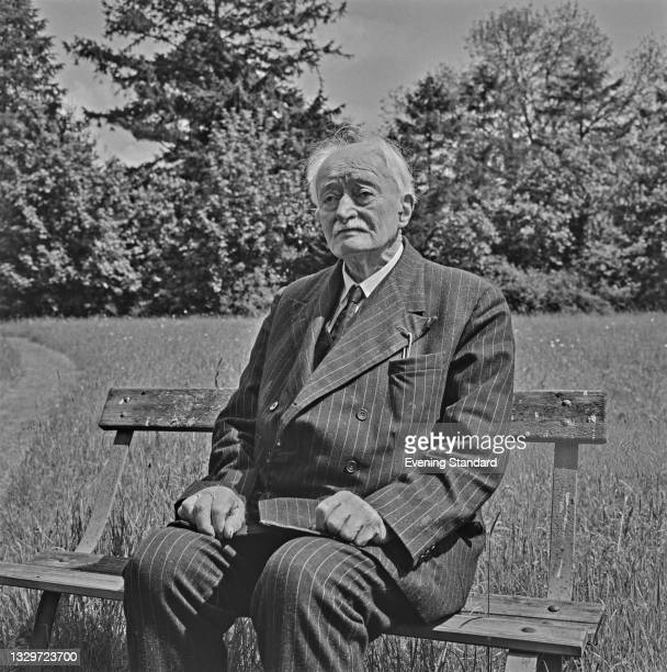 English poet John Masefield , the Poet Laureate, UK, 31st May 1965.