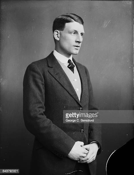 English poet, novelist and soldier, Siegfried Sassoon , London, 4th March 1916.