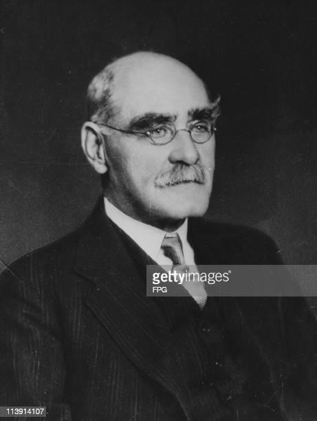 English poet, short-story writer, and novelist Rudyard Kipling , circa 1920.