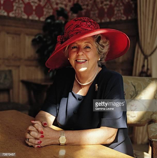 English politician Betty Boothroyd circa 1995