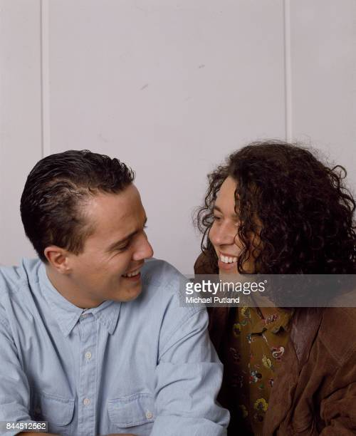 English pop duo Tears for Fears London 1989 Curt Smith and Roland Orzabal