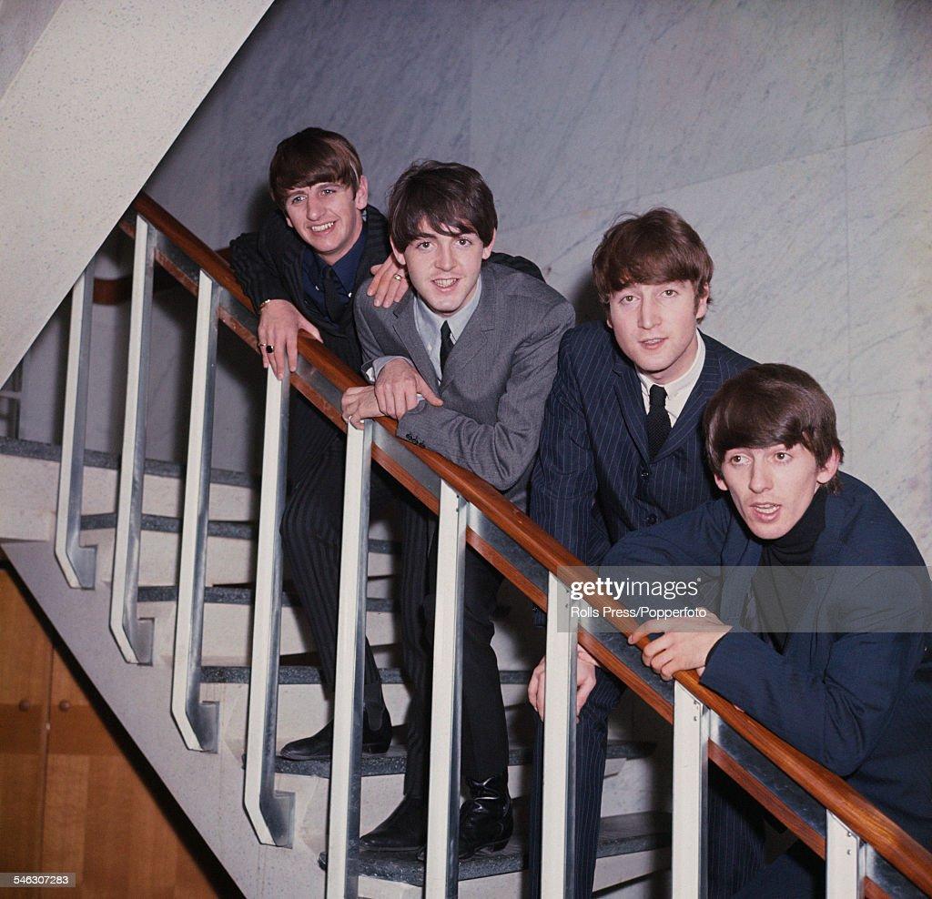 Staircase Beatles : News Photo