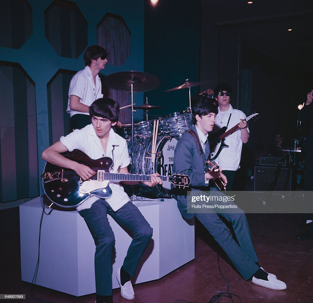 The Beatles In Miami : News Photo