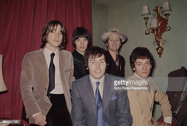English pop group The Hollies posed with new member Terry Sylvester in London on 16th January 1969 The group are from left to right Tony Hicks Terry...