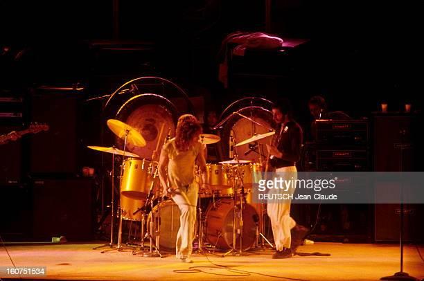 English Pop Group The Who Presents Their Last Rock Opera 'quadrophenia' Février 1974 Palais des Expositions de la porte de Versailles à Paris Concert...