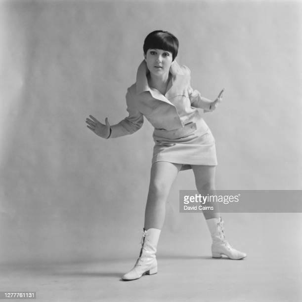 English pop singer Adrienne Posta 21st March 1966