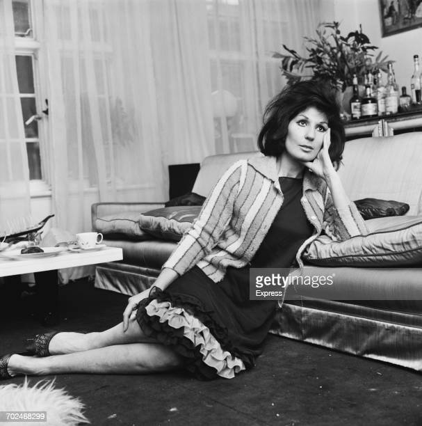 English pop singer Alma Cogan after an allnight party UK 24th February 1964