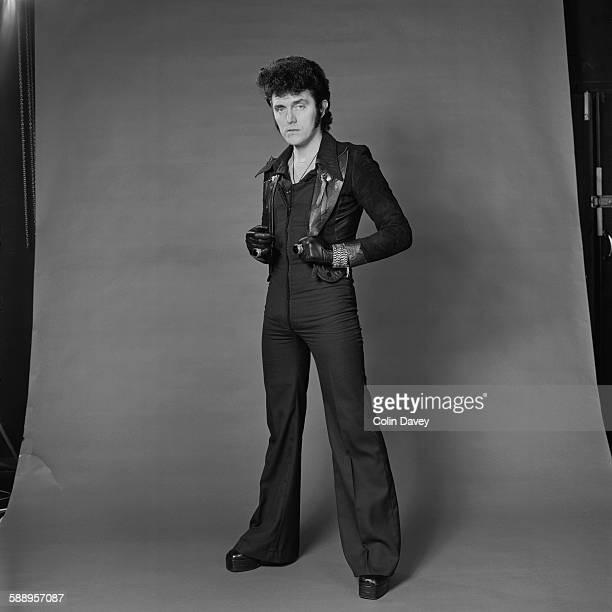 English pop singer Alvin Stardust 1975