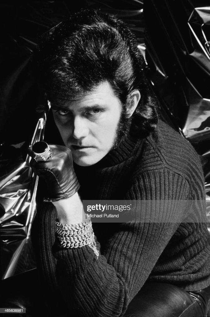 English pop singer Alvin Stardust, London, 16th February 1974.